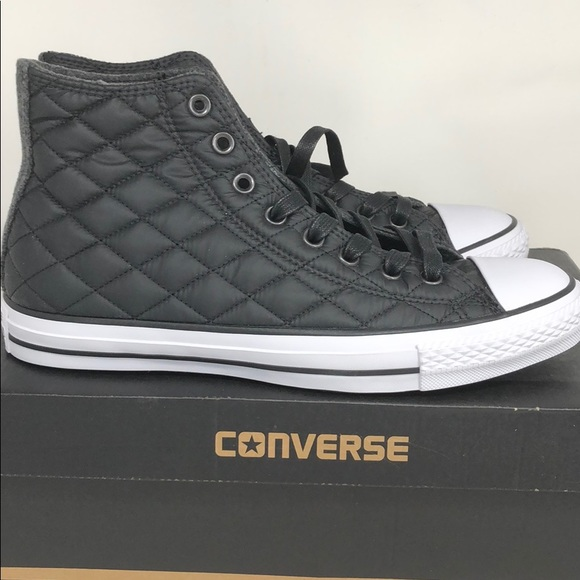 e2cdcfd8c704 Converse Quilted Chuck Taylor High Tops Black